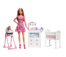Mattel Barbie Opiekunka z bobasem i mebelkami (DVJ60)