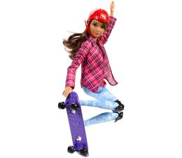 Mattel Barbie Sportowa lalka Skaterka (DVF68 DVF70)