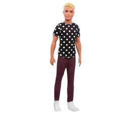 Mattel Barbie Stylowy Ken blondyn w koszulce w groszki (DWK44 FJF72)