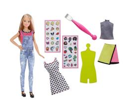 Mattel Barbie Zrób to sama: Modne naklejki blondynka (DYN92 DYN93)