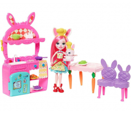 Mattel Enchantimals Kuchnia z lalką Bree Bunny (FRH44 FRH47)