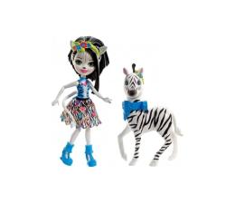 Mattel Enchantimals Lalka z dużym zwierzątkiem Zebra (FKY72 FKY75)