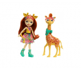 Mattel Enchantimals Lalka z dużym zwierzątkiem Żyrafa (FKY72 FKY74)