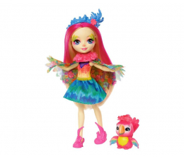 Mattel Enchantimals lalka ze zwierzątkiem Peeki Parrot (FNH22 FJJ21)