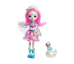Mattel Enchantimals lalka ze zwierzątkiem Saffi Swan (FNH22 FRH38)