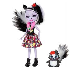 Mattel Enchantimals Lalka ze zwierzątkiem Sage Skunk  (DVH87 FXM72)
