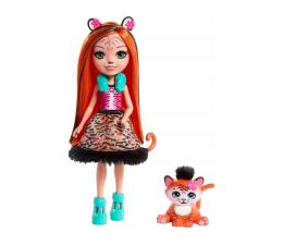 Mattel Enchantimals lalka ze zwierzątkiem Tanzie Tiger (FNH22 FRH39)
