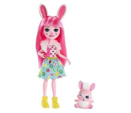 Mattel Enchantimals Lalka Zwierzątkiem Bree Bunny (DVH87 FXM73)