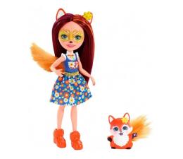 Mattel Enchantimals Lalka Zwierzątkiem Felicity Fox  (DVH87 FXM71)