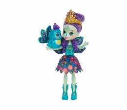 Mattel Enchantimals Lalka Zwierzątkiem Patter Peacock (DVH87 DYC76)