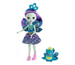 Mattel Enchantimals Lalka Zwierzątkiem Patter Peacock  (DVH87 FXM74)