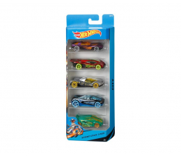 Mattel Hot Wheels Samochodziki 5pak MIX (1806)