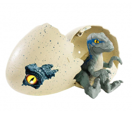 Mattel Jurassic World Jajkozaury - Velociraptor Blue (FMB91 FMB92)