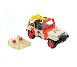 Mattel Jurassic World Jeep z siatką (FNP46)