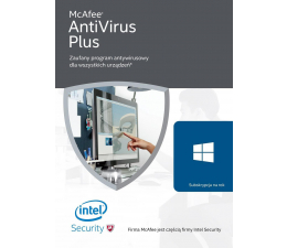 McAfee AntiVirus Plus PL (12m.)  (731944687773)