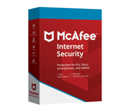 McAfee Internet Security 2018 BOX 1st. (12m.) (731944705835)