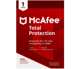 McAfee Total Protection 2018 PL (1st./12m.)  (731944707143)