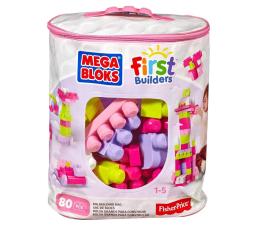 Mega Bloks Klocki 80 el. torba różowa (DCH62)