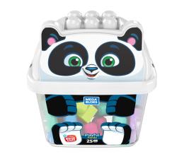 Mega Bloks Pojemnik z klockami Panda (GCT46 GCT47)