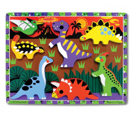 Melissa & Doug Puzzle drewniane Dinozaury (13747)