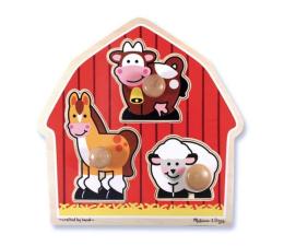 Melissa & Doug Puzzle układanka Farma Zwierzęta  (12054)