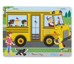 Melissa & Doug Puzzle z dźwiękiem Autobus szkolny  (10739)