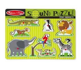 Melissa & Doug Puzzle ZOO zwierzątka dźwiękowe  (10727)