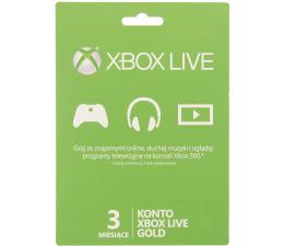 Microsoft Abonament Xbox Live GOLD 3 miesiące (52K-00141)