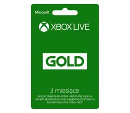 Microsoft Abonament Xbox Live GOLD 3 miesiące (52K-00270)
