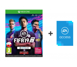 Microsoft FIFA 19 - Kupon + EA Access (G3Q-00528)