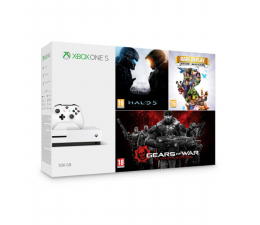 Microsoft Xbox One 500GB + Halo 5 + Rare Replay + GoW (ZQ9-00012)