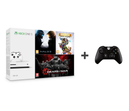 Microsoft Xbox One 500GB + Halo 5 + Rare Replay + GoW + Pad (ZQ9-00012)