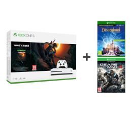 Microsoft Xbox One S 1TB SOTTR+Disneyland Adventures+GOW
