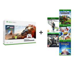 Microsoft Xbox One S 1TB + Zestaw 6 Gier