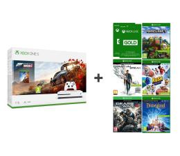 Microsoft Xbox One S 1TB + Zestaw 6 Gier + 6 M Live Gold