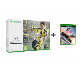Microsoft Xbox ONE S 1TB+FIFA 17 +FORZA H3 +6M Gold+1M EA (234-00032 )