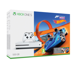 Microsoft Xbox One S 500GB Forza H3+Hot Wheels+6M LIVE (ZQ9-00211)