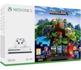 Microsoft Xbox One S 500GB Minecraft Explorer's +Story+ 6M (ZQ9-00297)