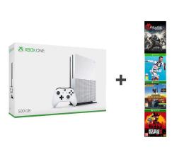 Microsoft Xbox One S 500GB + FIFA 19+ RDR2+ PUBG+ GoW4