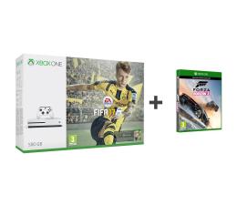 Microsoft Xbox ONE S 500GB+FIFA 17+FORZA H3+6M Gold+1M EA  (ZQ9-00056)