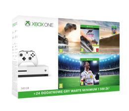 Microsoft Xbox ONE S 500GB+Horizon 3+ FIFA 18+ 6M Gold (ZQ9-00211 )