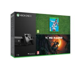Microsoft Xbox One X 1TB + SOTTR + FIFA19