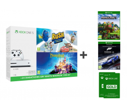 Microsoft XboxOneS 1TB PixarR,Disney+Minecraft Ex+FORZA 6+6M