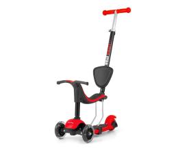 MILLY MALLY Hulajnoga 3w1 Scooter Little Star czerwona (5901761122886)