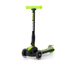 MILLY MALLY Hulajnoga trójkołowa Scooter Magic zielona (5901761122824)