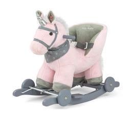 MILLY MALLY Koń na biegunach Polly różowy (5901761123999)