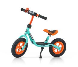 MILLY MALLY Rowerek biegowy Dusty pistacjowo pomarańczowy (5901761123302)