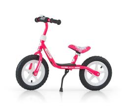 MILLY MALLY Rowerek biegowy Dusty różowo biały  (5901761123326)