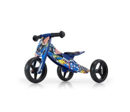 MILLY MALLY Rowerek biegowy Jake Cars niebieski (5901761123418)