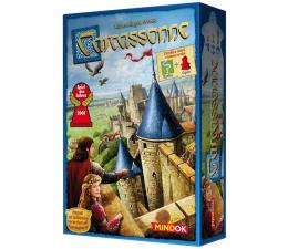 Mindok Carcassonne podstawa 2 edycja + Opat i Rzeka
